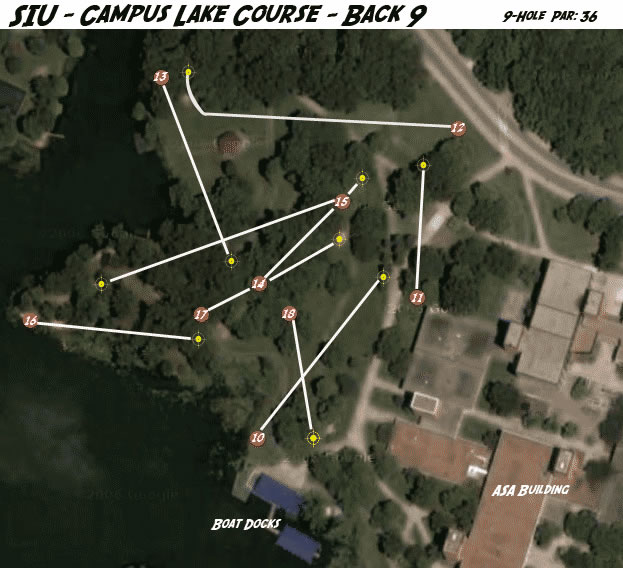 Siu Campus Lake In Carbondale Il Disc Golf Course Review