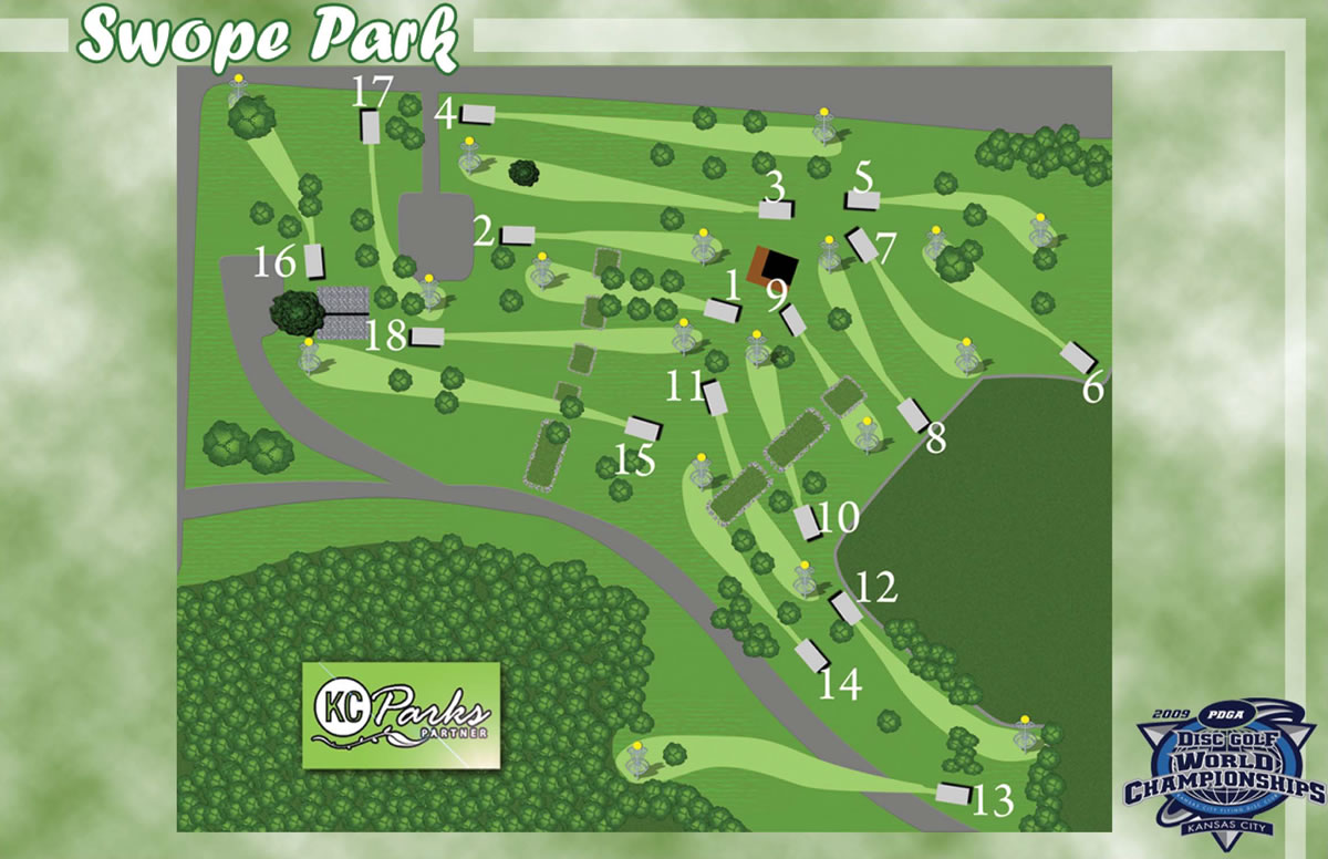 Swope Park In Kansas City Mo Disc Golf Course Review