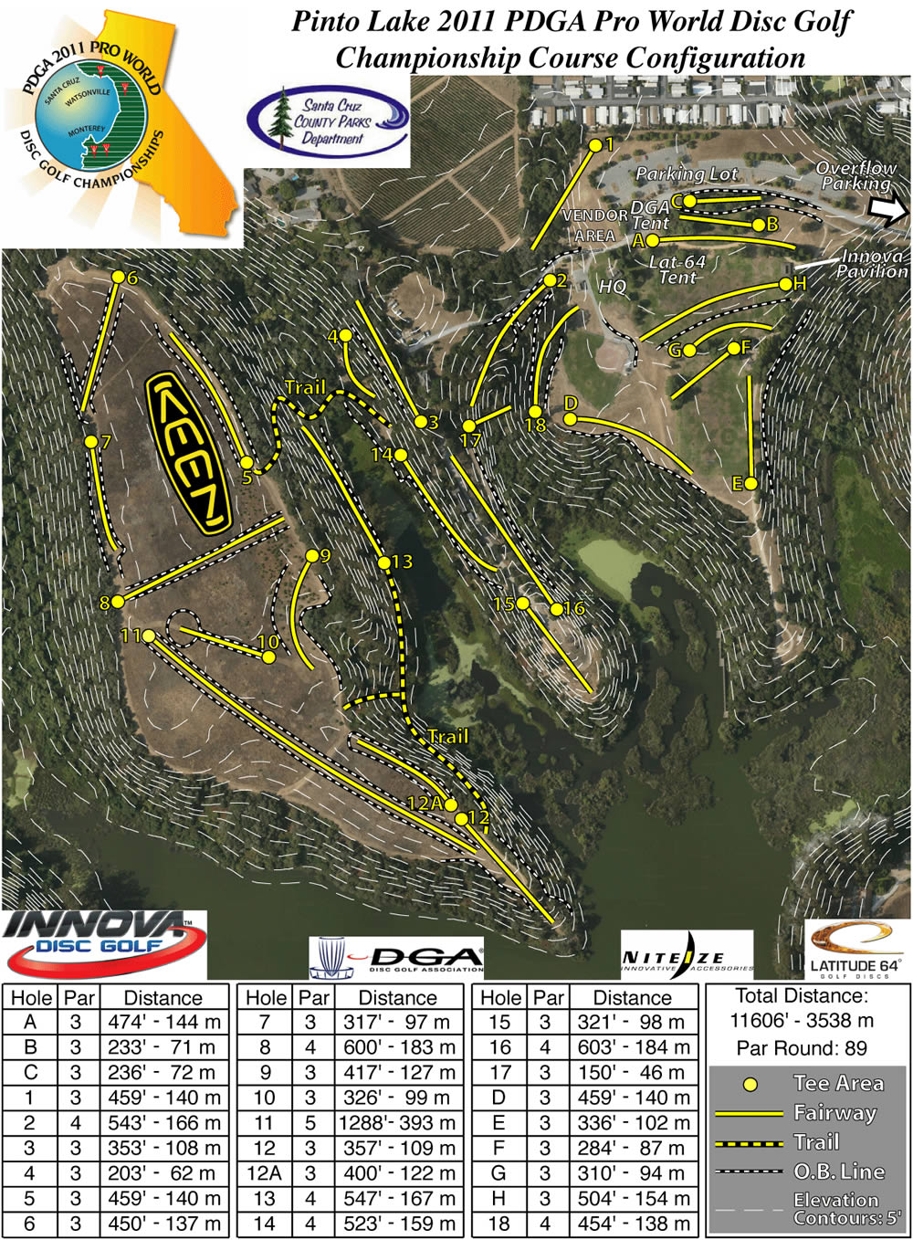 Pinto Lake DGC in Watsonville, CA - Disc Golf Course Review