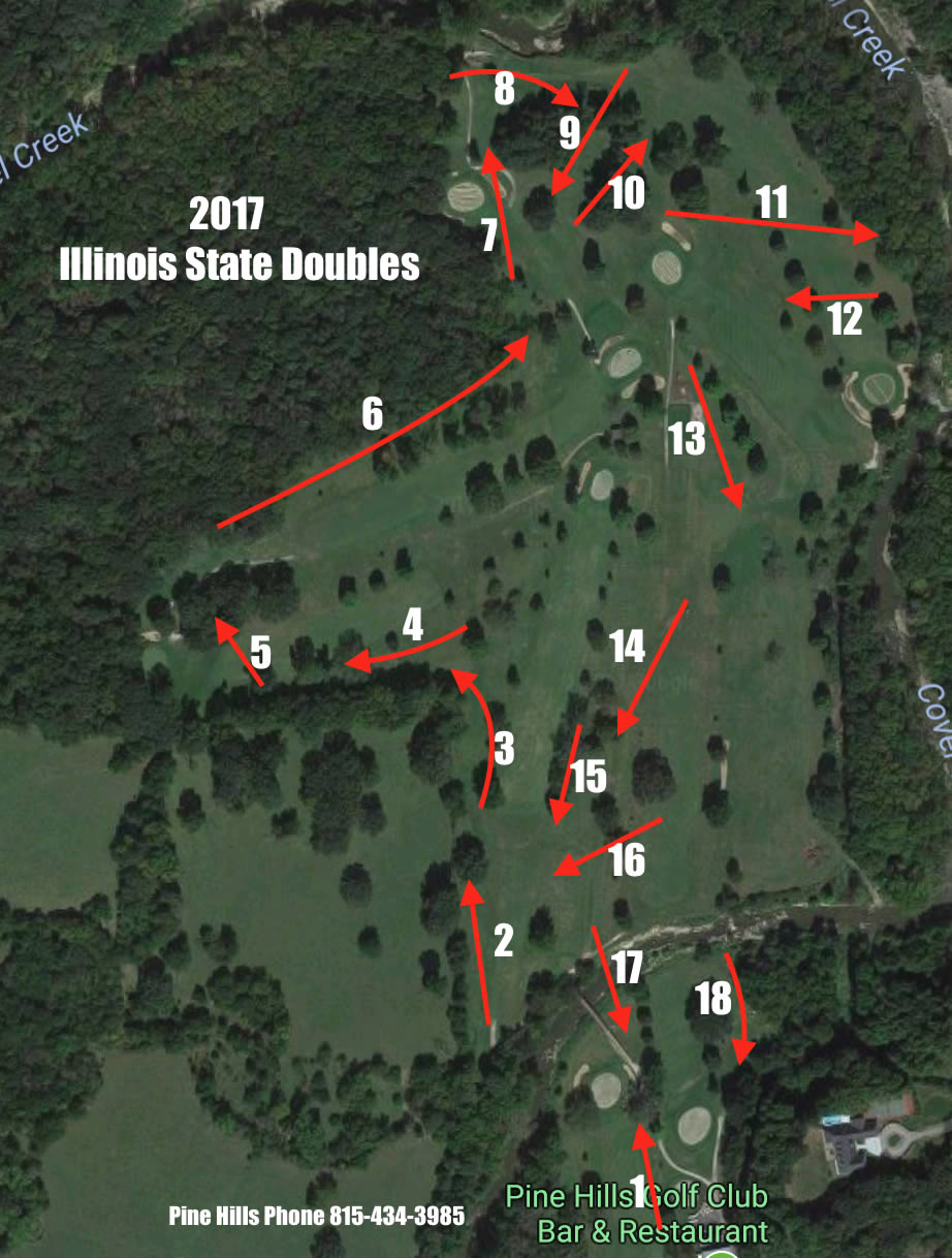 Pine Hills Golf Club in Ottawa, IL - Disc Golf Course Review