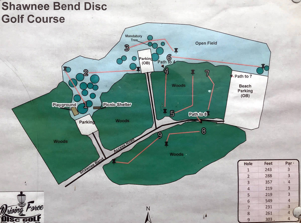 Shawnee Bend DGC in Warsaw, MO - Disc Golf Course Review