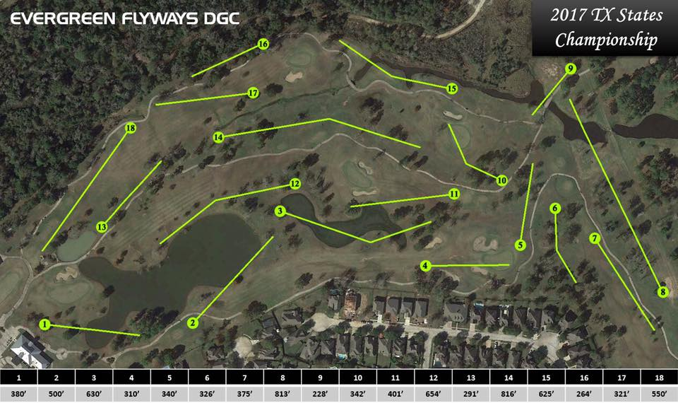 Evergreen Flyways DGC in Baytown TX Disc Golf Course Review