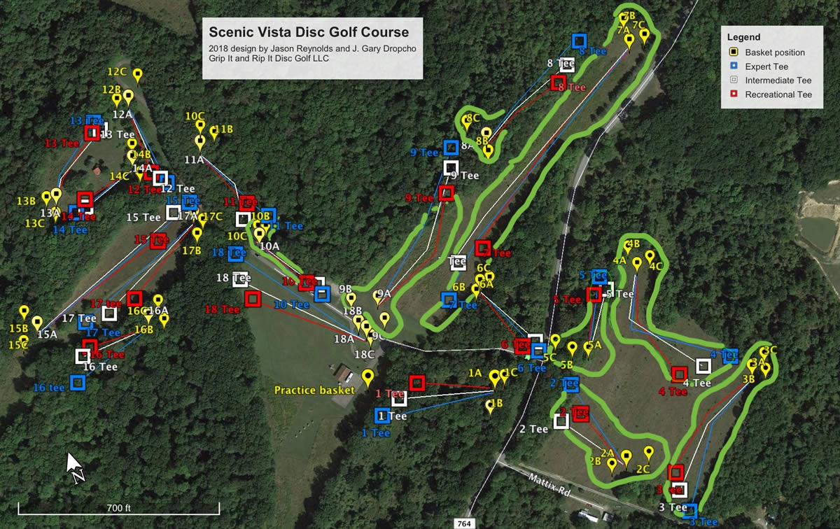Scenic Vista in Lisbon, OH - Disc Golf Course Review