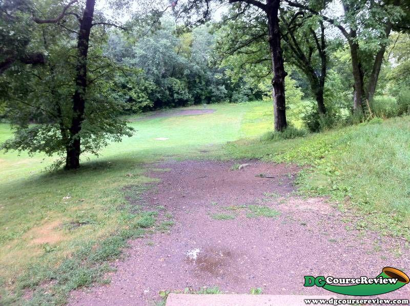 Oakwood Park In Cottage Grove Mn Disc Golf Course Review