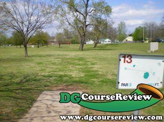 Riverside Park in Tulsa, OK - Disc Golf Course Review